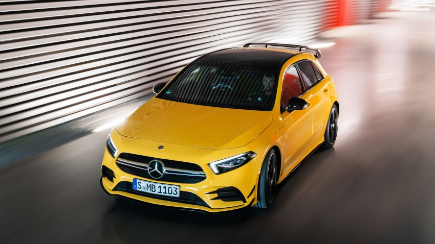 Mercedes-AMG A35 4Matic debuts – 306 hp, 400 Nm! Image #862381
