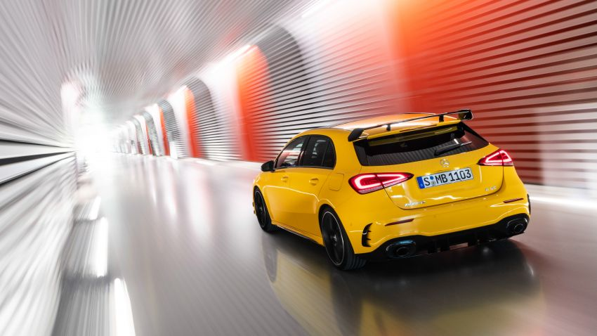 Mercedes-AMG A35 4Matic debuts – 306 hp, 400 Nm! Image #862383