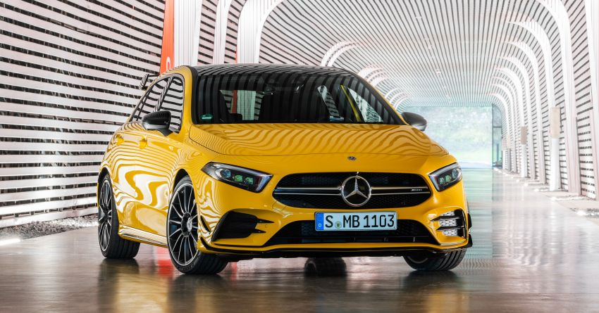 Mercedes-AMG A35 4Matic debuts – 306 hp, 400 Nm! Image #862385