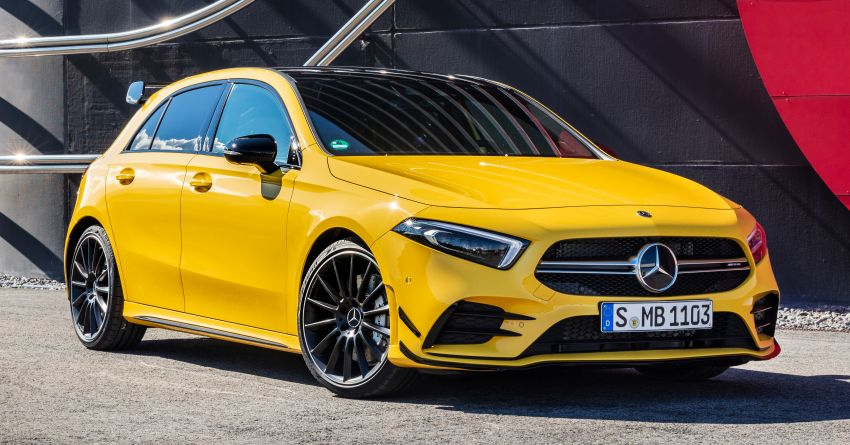 Mercedes-AMG A35 4Matic debuts – 306 hp, 400 Nm! Image #862387