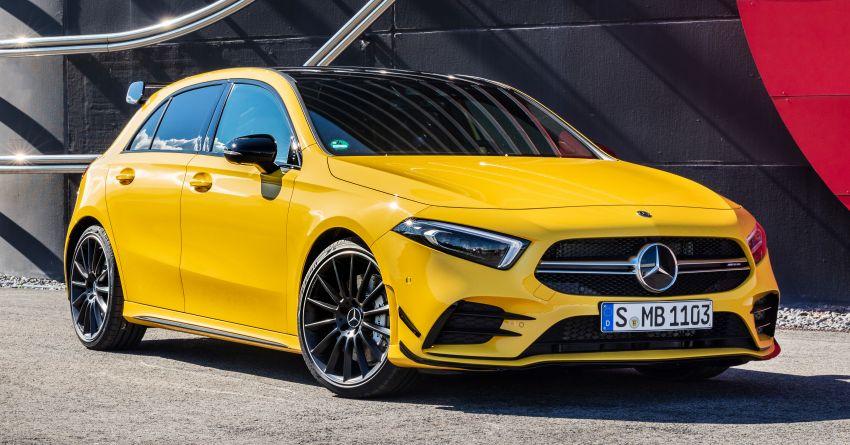 Mercedes-AMG A35 4Matic debuts – 306 hp, 400 Nm! Image #862387