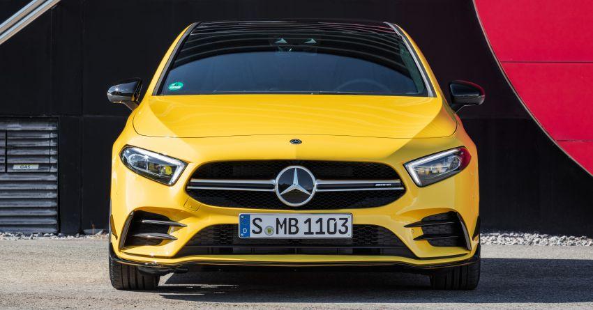 Mercedes-AMG A35 4Matic debuts – 306 hp, 400 Nm! Image #862388
