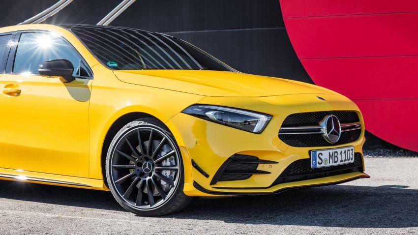 Mercedes-AMG A35 4Matic debuts – 306 hp, 400 Nm! Image #862393
