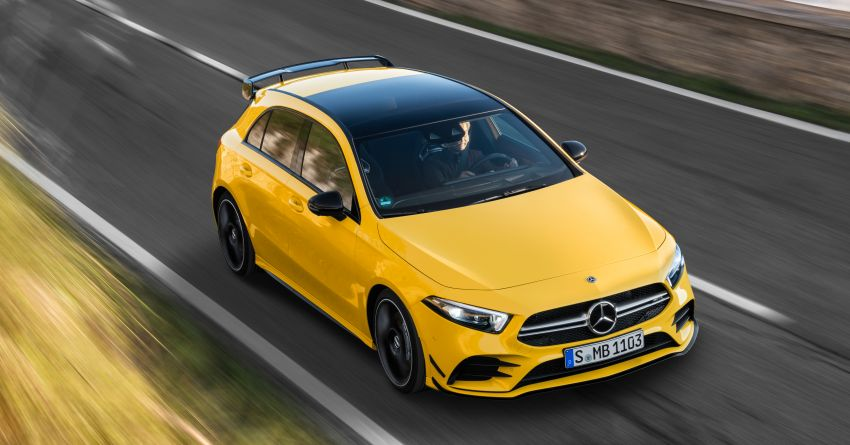 Mercedes-AMG A35 4Matic debuts – 306 hp, 400 Nm! Image #862402