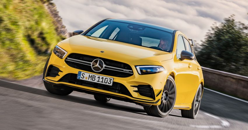Mercedes-AMG A35 4Matic debuts – 306 hp, 400 Nm! Image #862403