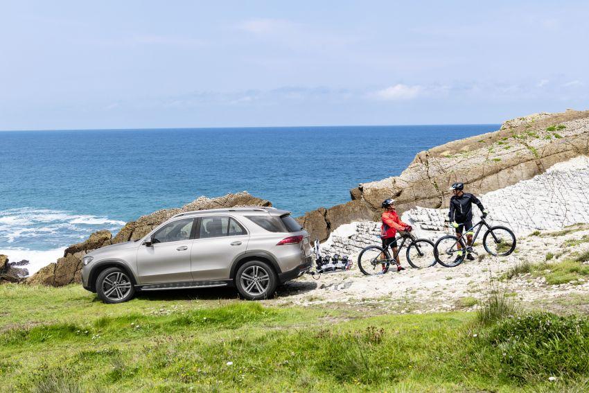 Mercedes-Benz GLE W167 diperkenal dengan pilihan enjin hibrid ringkas 48V enam silinder, sistem baru Image #859959