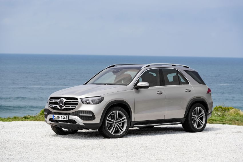Mercedes-Benz GLE W167 diperkenal dengan pilihan enjin hibrid ringkas 48V enam silinder, sistem baru Image #859972