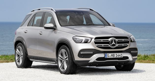 v167 mercedes benz gle debuts with 48v mild hybrid inline six mbux new styling e active body. Black Bedroom Furniture Sets. Home Design Ideas