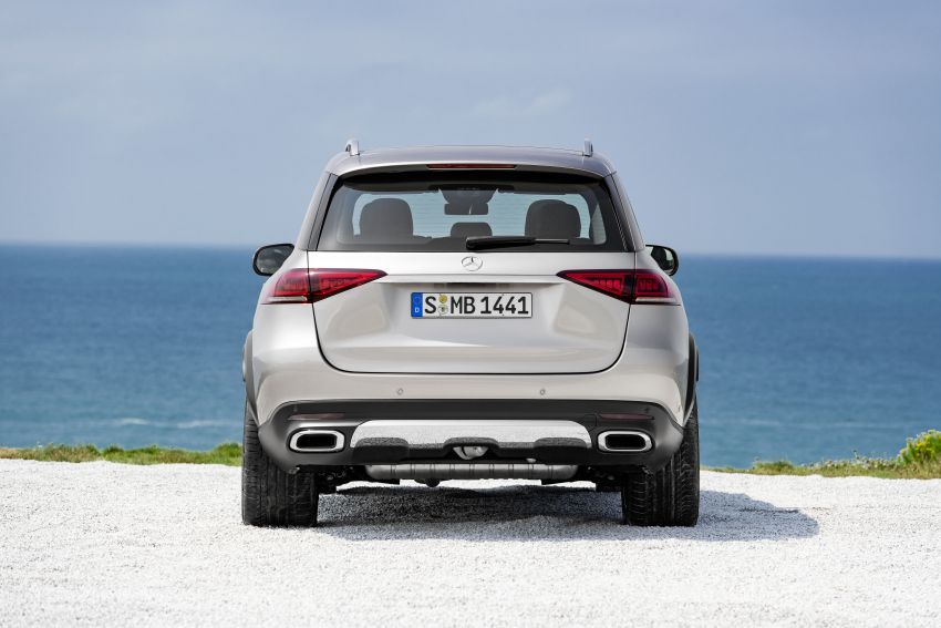 V167 Mercedes-Benz GLE debuts with 48V mild hybrid inline-six, MBUX, new styling, E-Active Body Control Image #859455
