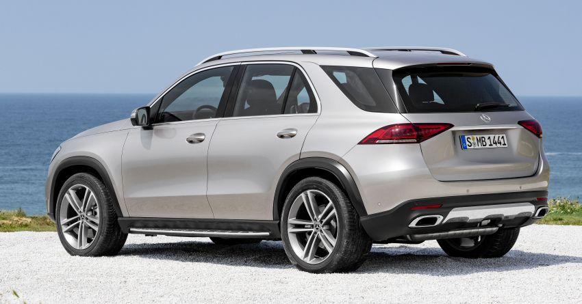 Mercedes-Benz GLE W167 diperkenal dengan pilihan enjin hibrid ringkas 48V enam silinder, sistem baru Image #859976