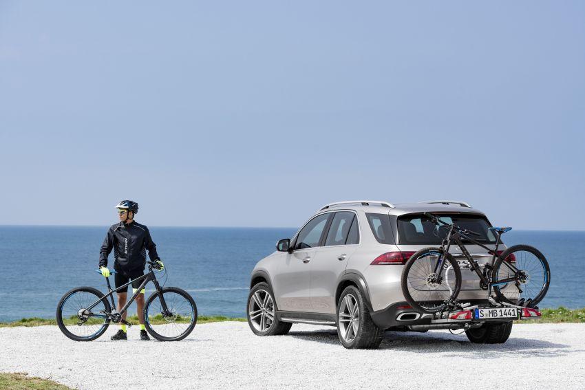 Mercedes-Benz GLE W167 diperkenal dengan pilihan enjin hibrid ringkas 48V enam silinder, sistem baru Image #859979