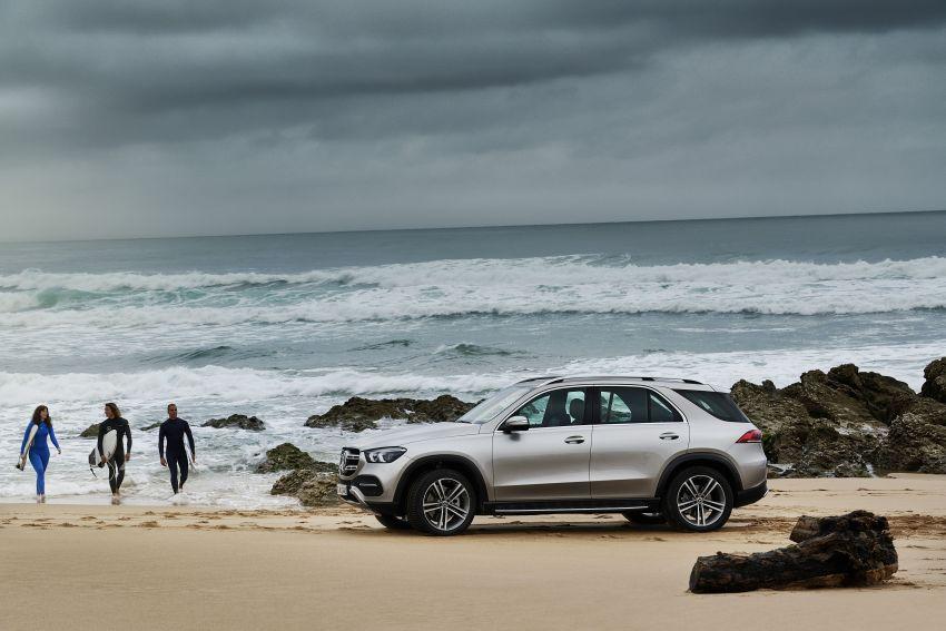 Mercedes-Benz GLE W167 diperkenal dengan pilihan enjin hibrid ringkas 48V enam silinder, sistem baru Image #859983