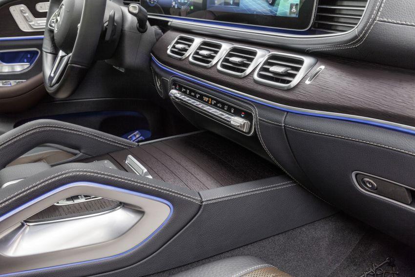 Mercedes-Benz GLE W167 diperkenal dengan pilihan enjin hibrid ringkas 48V enam silinder, sistem baru Image #859995