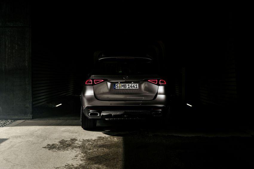 Mercedes-Benz GLE W167 diperkenal dengan pilihan enjin hibrid ringkas 48V enam silinder, sistem baru Image #860006