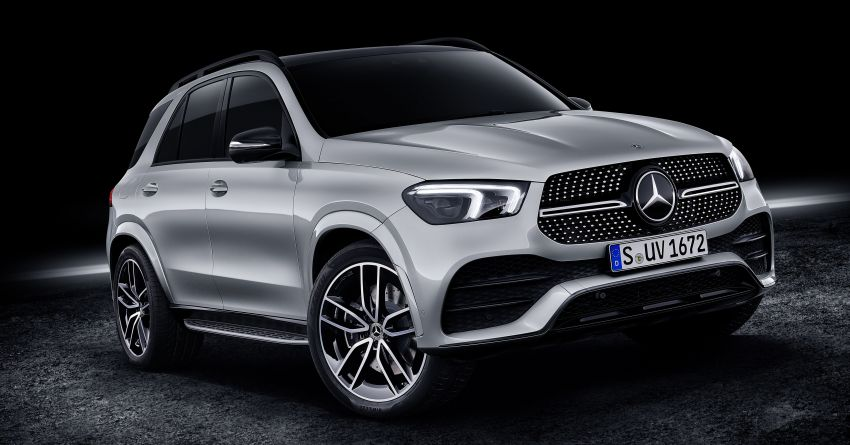 W167 Mercedes-Benz GLE debuts with 48V mild hybrid inline-six, MBUX, new styling, E-Active Body Control Image #859489