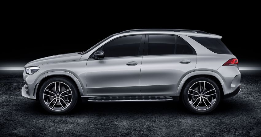 V167 Mercedes-Benz GLE debuts with 48V mild hybrid inline-six, MBUX, new styling, E-Active Body Control Image #859490