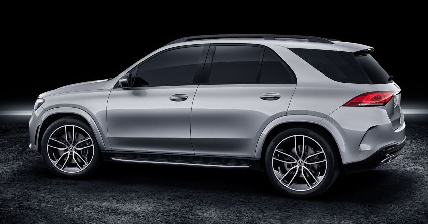 V167 Mercedes-Benz GLE debuts with 48V mild hybrid inline-six, MBUX, new styling, E-Active Body Control Image #859491