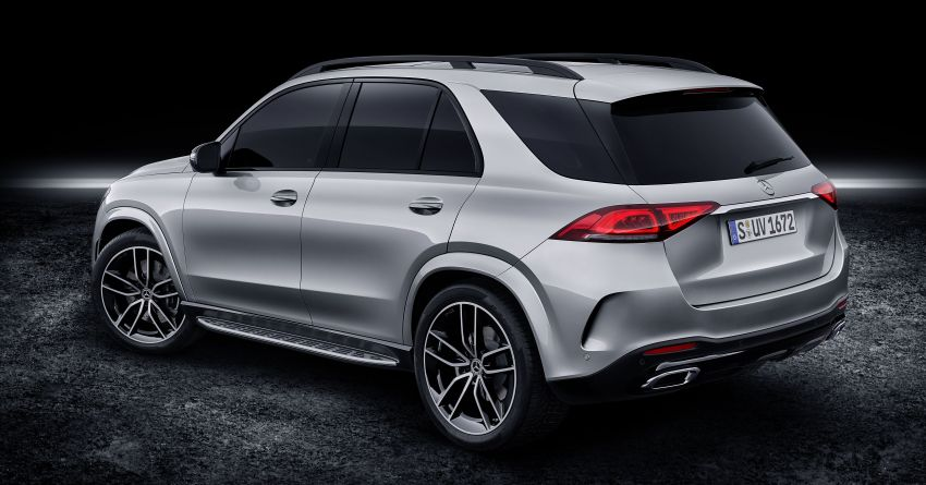 V167 Mercedes-Benz GLE debuts with 48V mild hybrid inline-six, MBUX, new styling, E-Active Body Control Image #859494