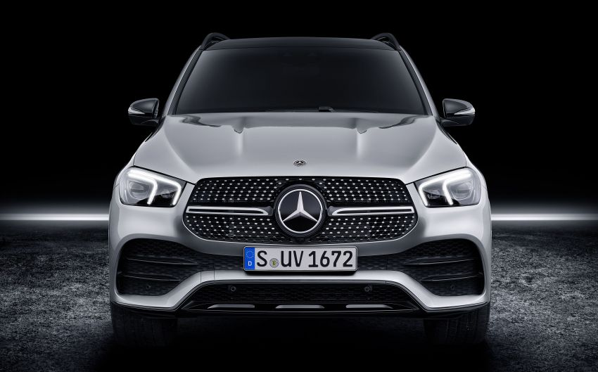 V167 Mercedes-Benz GLE debuts with 48V mild hybrid inline-six, MBUX, new styling, E-Active Body Control Image #859496