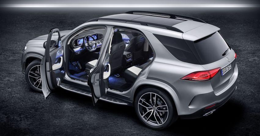 Mercedes-Benz GLE W167 diperkenal dengan pilihan enjin hibrid ringkas 48V enam silinder, sistem baru Image #860024