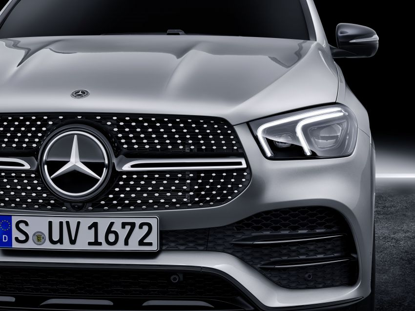 V167 Mercedes-Benz GLE debuts with 48V mild hybrid inline-six, MBUX, new styling, E-Active Body Control Image #859499