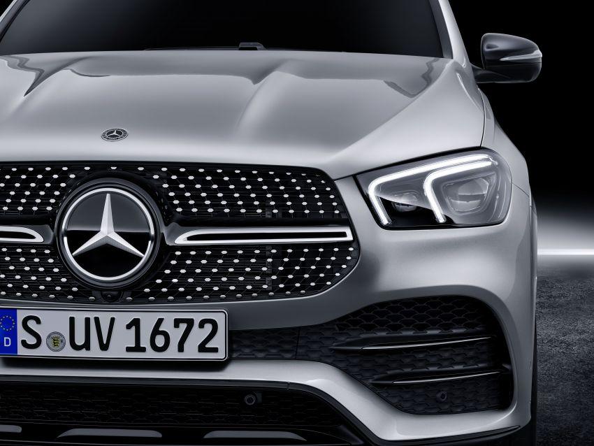Mercedes-Benz GLE W167 diperkenal dengan pilihan enjin hibrid ringkas 48V enam silinder, sistem baru Image #860025