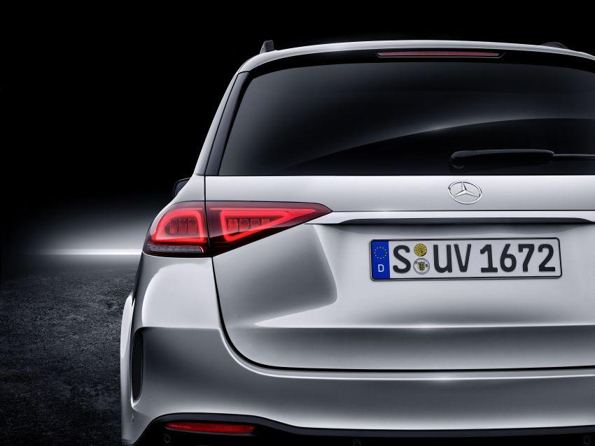Mercedes-Benz GLE W167 diperkenal dengan pilihan enjin hibrid ringkas 48V enam silinder, sistem baru Image #860027
