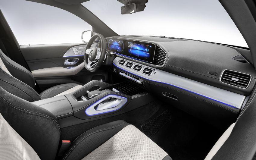 Mercedes-Benz GLE W167 diperkenal dengan pilihan enjin hibrid ringkas 48V enam silinder, sistem baru Image #860030