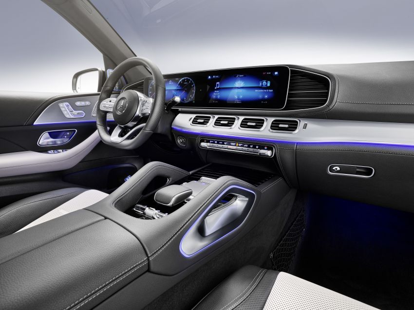 Mercedes-Benz GLE W167 diperkenal dengan pilihan enjin hibrid ringkas 48V enam silinder, sistem baru Image #860031