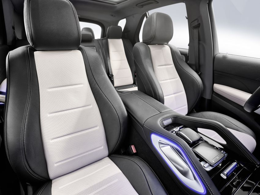 Mercedes-Benz GLE W167 diperkenal dengan pilihan enjin hibrid ringkas 48V enam silinder, sistem baru Image #860033