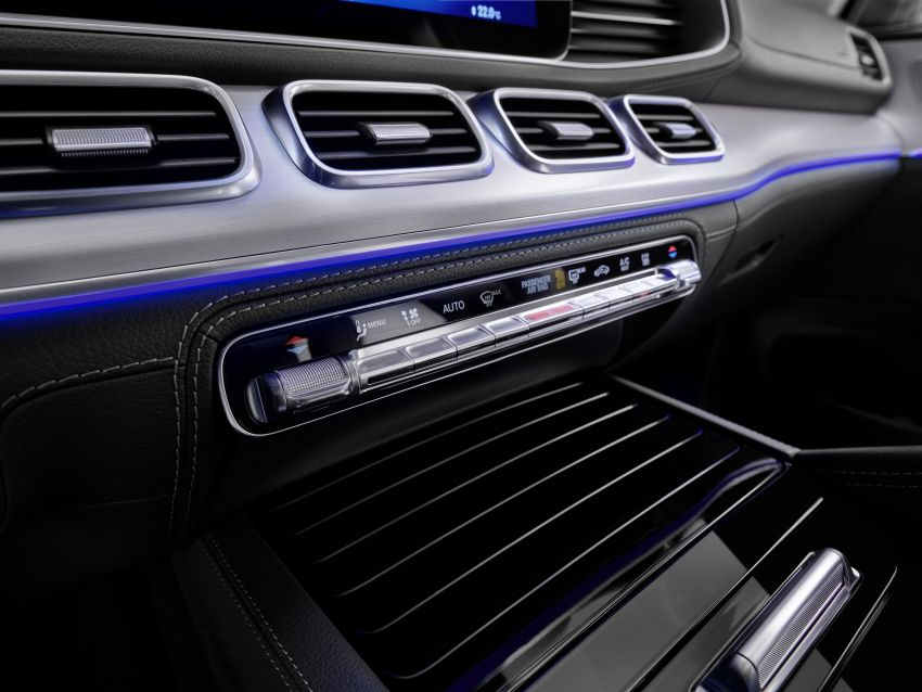 Mercedes-Benz GLE W167 diperkenal dengan pilihan enjin hibrid ringkas 48V enam silinder, sistem baru Image #860034