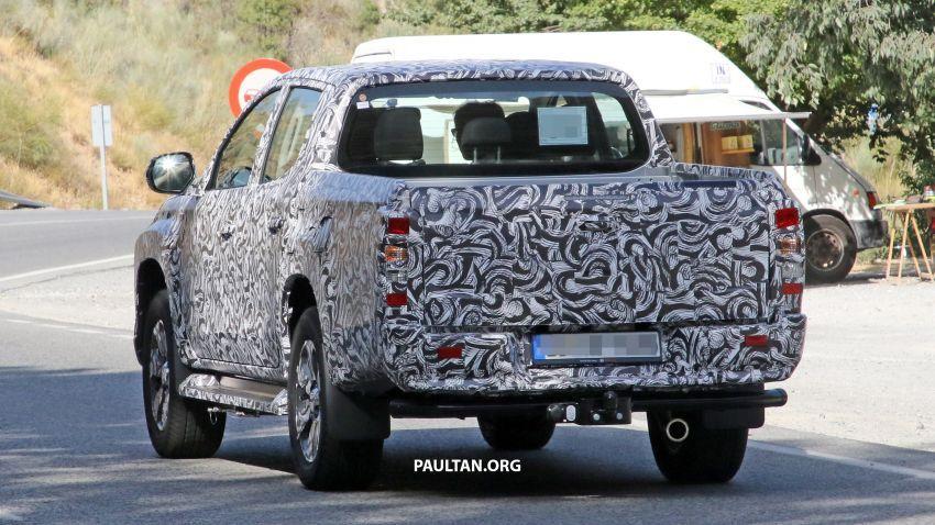 SPYSHOT: Mitsubishi Triton <em>facelift</em> 2019 dilihat lagi Image #856869