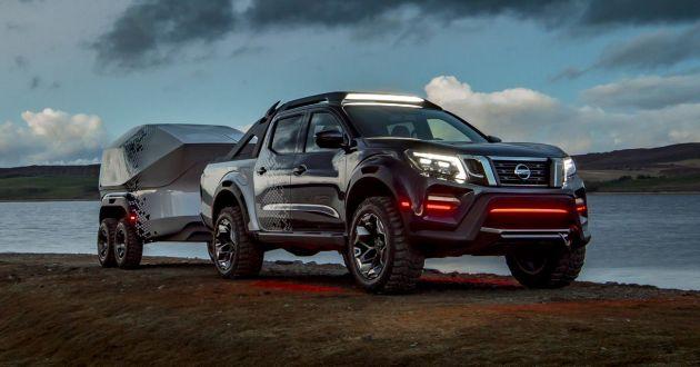 Nissan Navara Dark Sky Concept leaked prior to debut