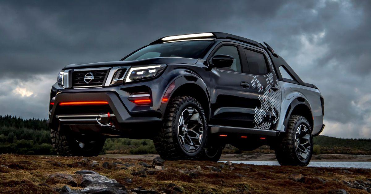Nissan Navara Dark Sky Concept debuts at Hannover
