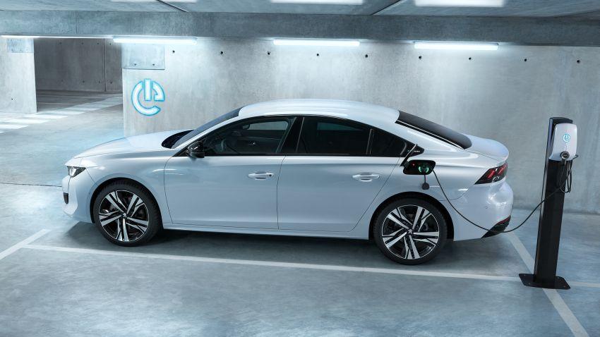 Peugeot 508, 508 SW Hybrid and 3008 GT Hybrid4 debuts – 1.6L PHEV, up to 300 hp, 60 km e-range! Image #864549