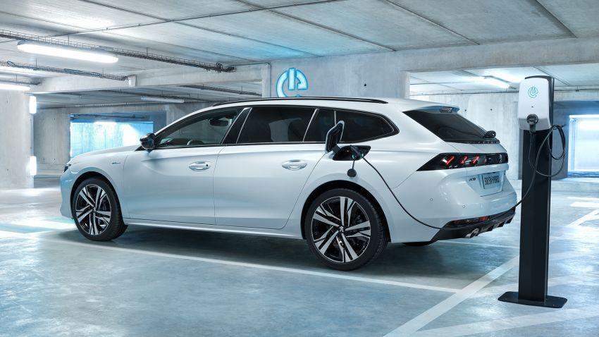 Peugeot 508, 508 SW Hybrid and 3008 GT Hybrid4 debuts – 1.6L PHEV, up to 300 hp, 60 km e-range! Image #864551
