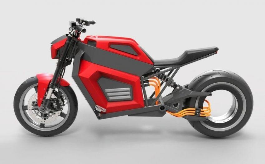 RMK E2 hubless e-bike gets 160 km/h, 300 km range Image #860223