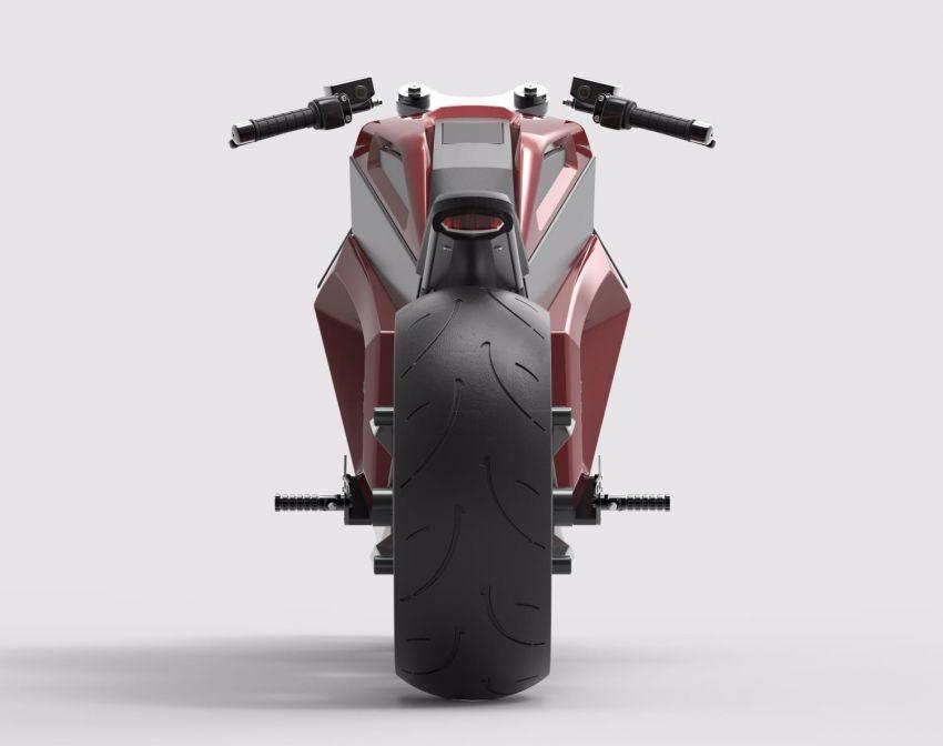 RMK E2 hubless e-bike gets 160 km/h, 300 km range Image #860227
