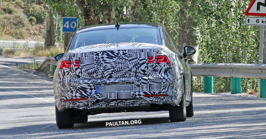 SPIED: B8.5 Volkswagen Passat facelift spotted again Image #865912