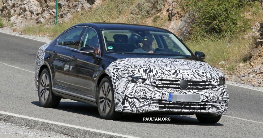 SPIED: B8.5 Volkswagen Passat facelift spotted again Image #865900