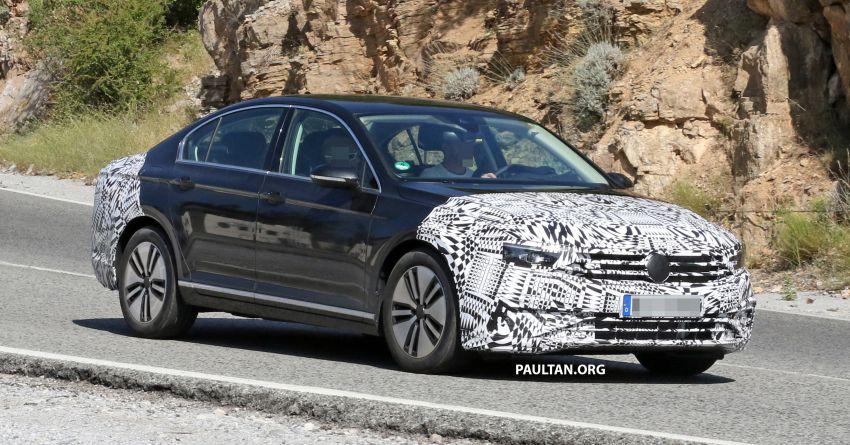 SPIED: B8.5 Volkswagen Passat facelift spotted again Image #865901
