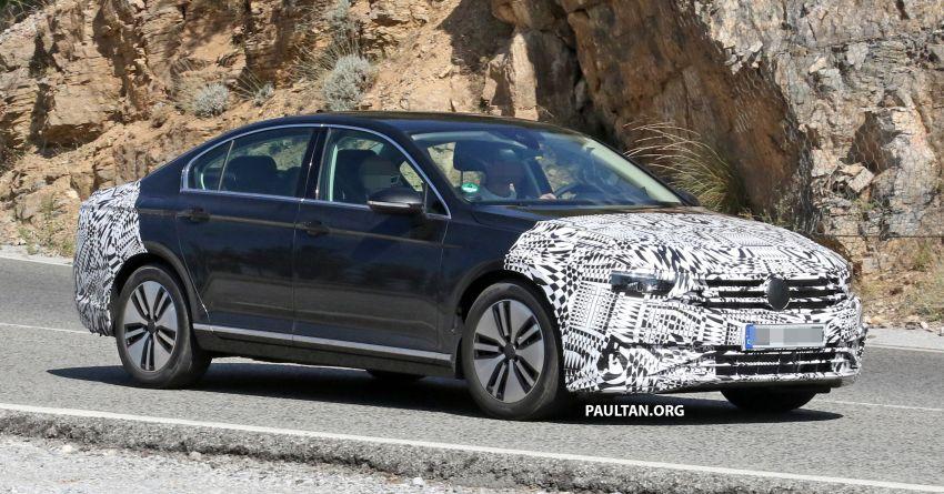SPIED: B8.5 Volkswagen Passat facelift spotted again Image #865902
