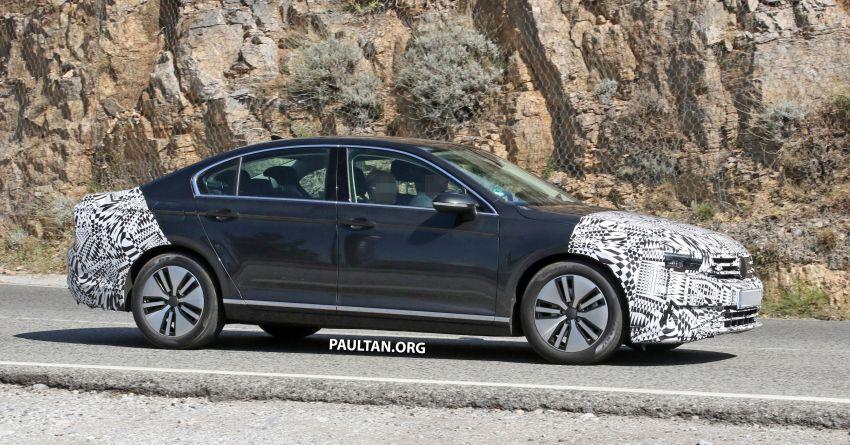 SPIED: B8.5 Volkswagen Passat facelift spotted again Image #865903