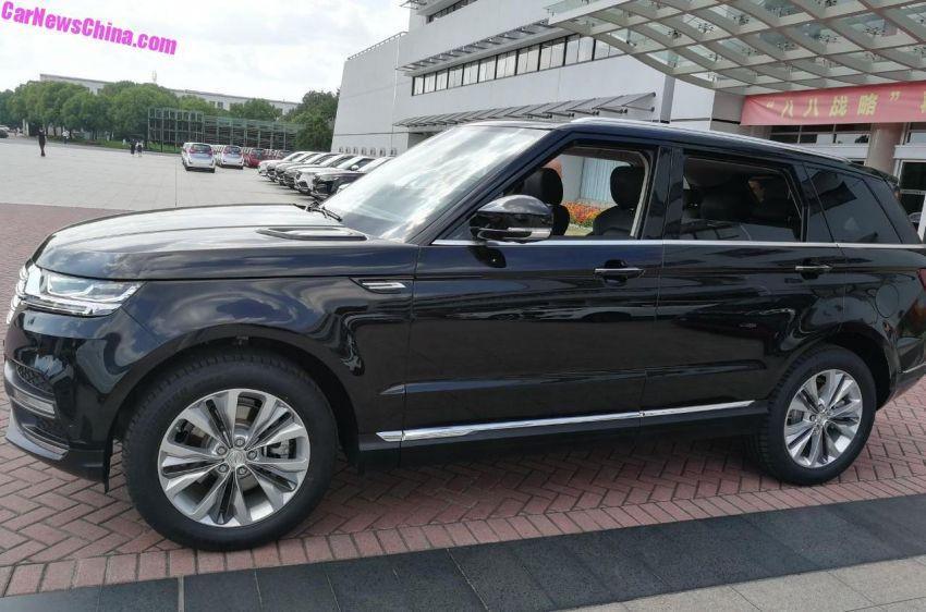 Zotye T900 –  Range Rover Sport 'copy ori'  dengan papan pemuka seperti Mercedes-Benz dari China Image #857910