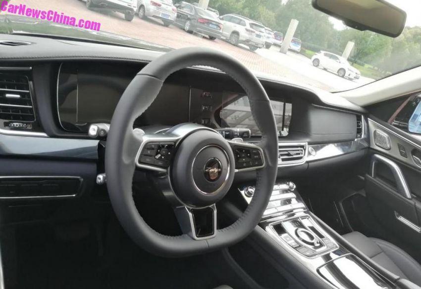 Zotye T900 –  Range Rover Sport 'copy ori'  dengan papan pemuka seperti Mercedes-Benz dari China Image #857908