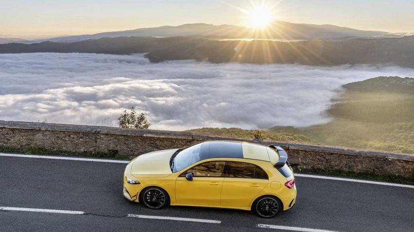 Mercedes-AMG A 35 4Matic didedahkan – 2.0L turbo, 306 hp dan 400 Nm, AWD; Pencabar terus VW Golf R! Image #862342