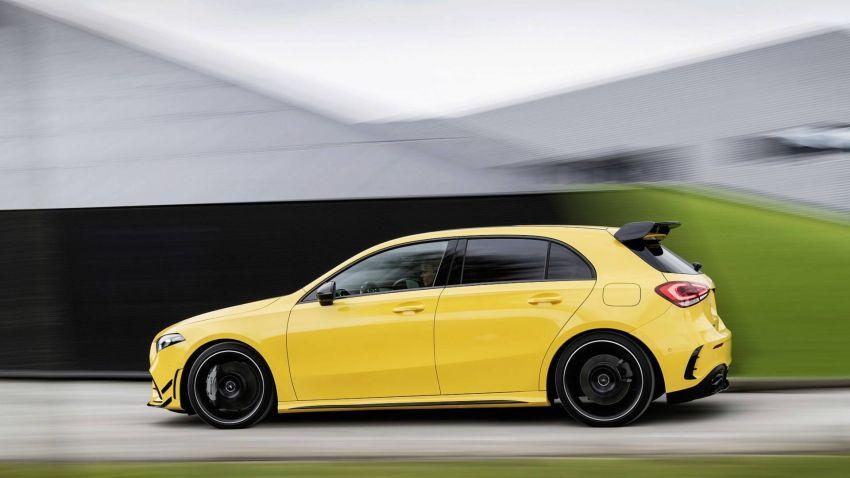 Mercedes-AMG A 35 4Matic didedahkan – 2.0L turbo, 306 hp dan 400 Nm, AWD; Pencabar terus VW Golf R! Image #862341
