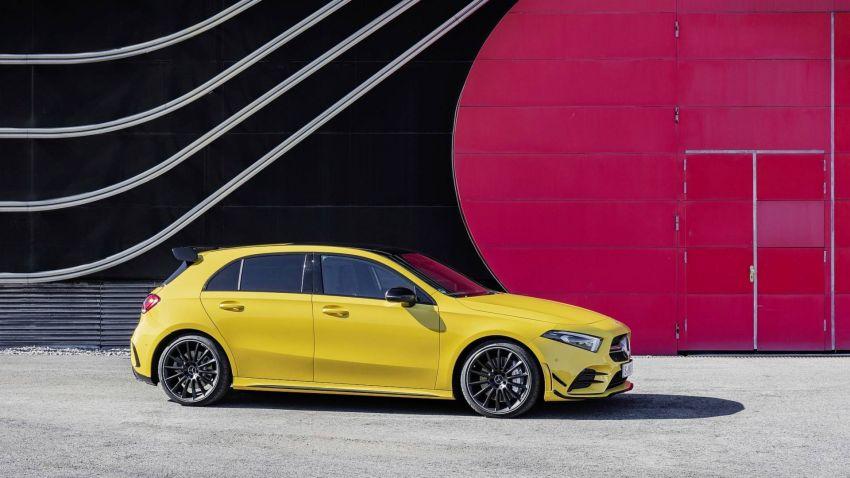 Mercedes-AMG A 35 4Matic didedahkan – 2.0L turbo, 306 hp dan 400 Nm, AWD; Pencabar terus VW Golf R! Image #862339