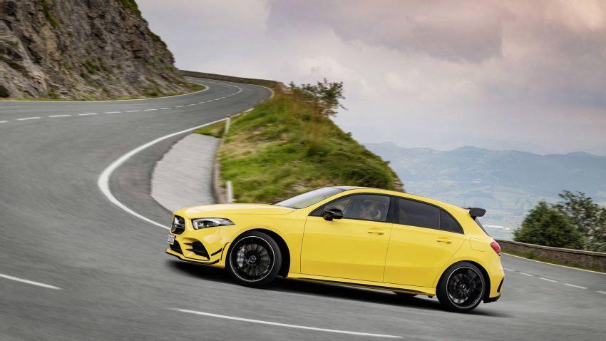 Mercedes-AMG A 35 4Matic didedahkan – 2.0L turbo, 306 hp dan 400 Nm, AWD; Pencabar terus VW Golf R! Image #862338