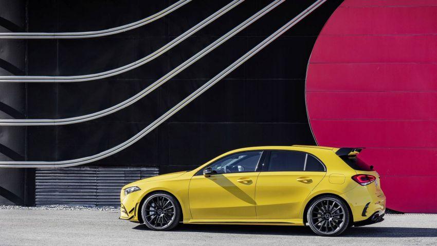 Mercedes-AMG A 35 4Matic didedahkan – 2.0L turbo, 306 hp dan 400 Nm, AWD; Pencabar terus VW Golf R! Image #862337